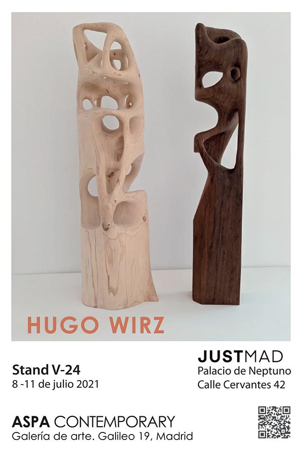 Hugo Wirz, exposición JustMad